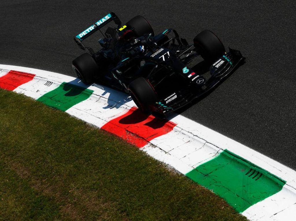 FP1 Formula 1 GP Italia: Mercedes Berkuasa