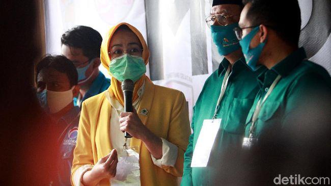 Benyamin-Pilar Janji Lanjutkan Kerja Airin Rachmi Diany di Tangsel