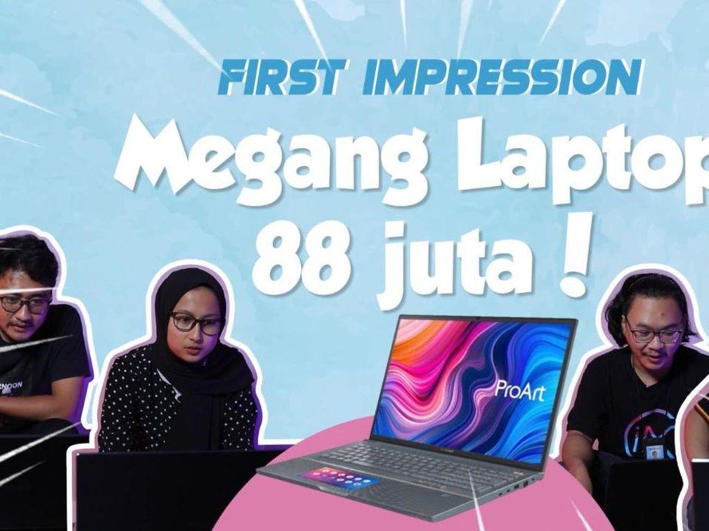Laptop Sultan Rp 88 Jutaan, Bikin Editor Video dan Grafis Mupeng