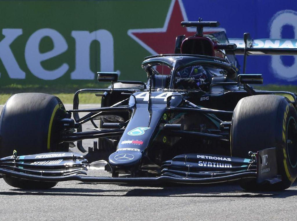 Kualifikasi F1 GP Italia: Bikin Rekor, Hamilton Rebut Pole