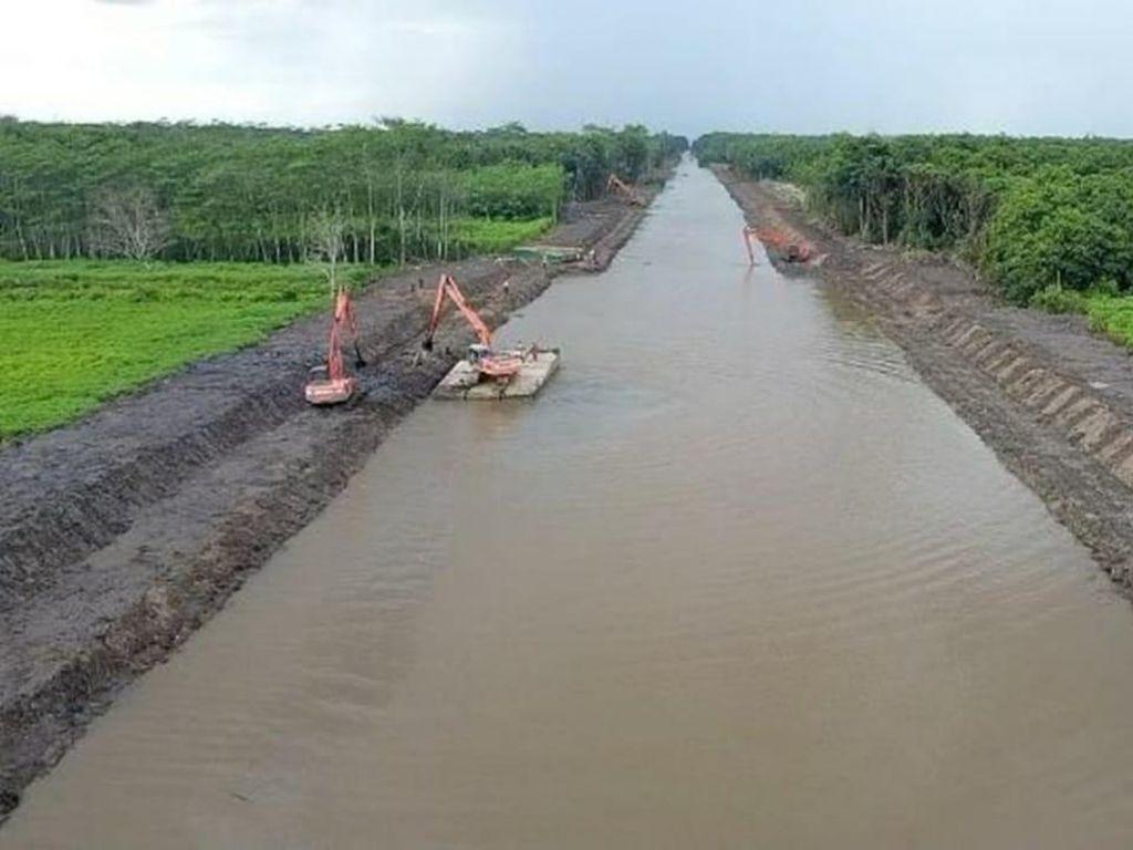 Mengintip Persiapan Megaproyek Lumbung Pangan di Kalteng