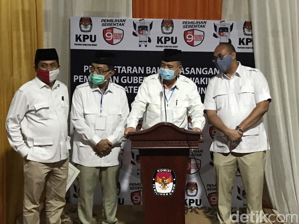 Nasrul Abit-Indra Catri Gugat Rekapitulasi Hasil Pilgub Sumbar ke MK