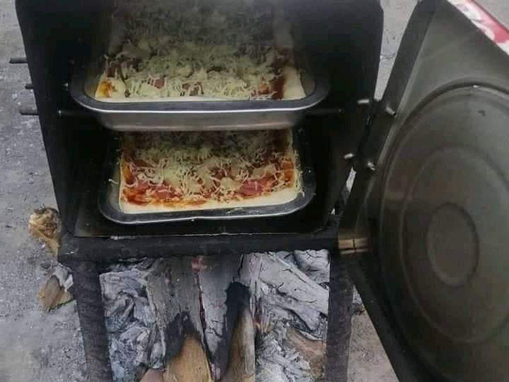 Kreatif! Begini Cara Bikin Oven dari Kaleng Biskuit Bekas