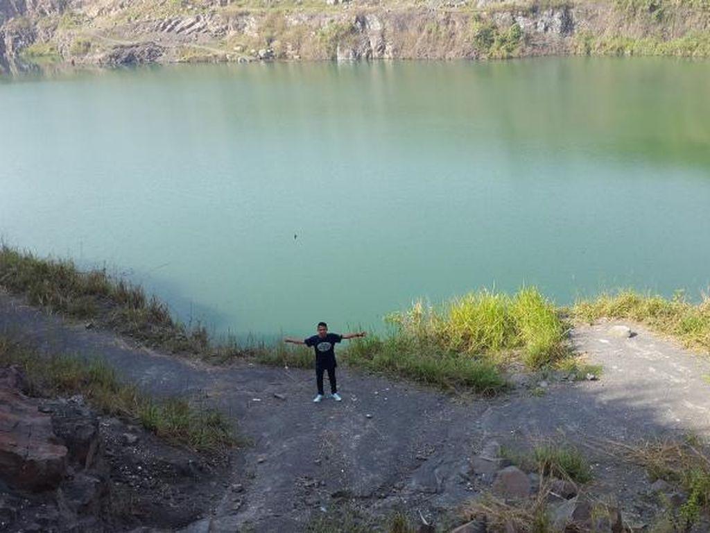 Potret Danau Bekas Tambang Pasir di Bogor