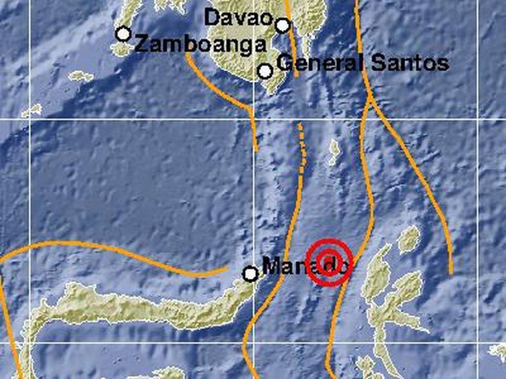 Gempa M 5,9 Guncang Perairan Halmahera Barat