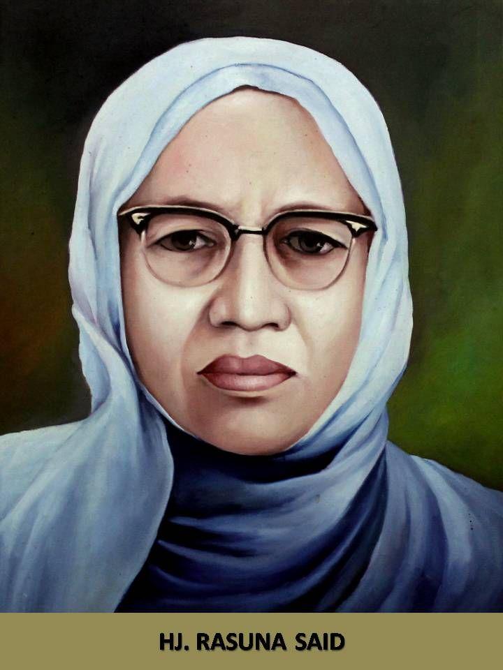 H Rasuna Said, pahlawan nasional dari Sumatera Barat. (Ditjen K2KRS Kemsos)