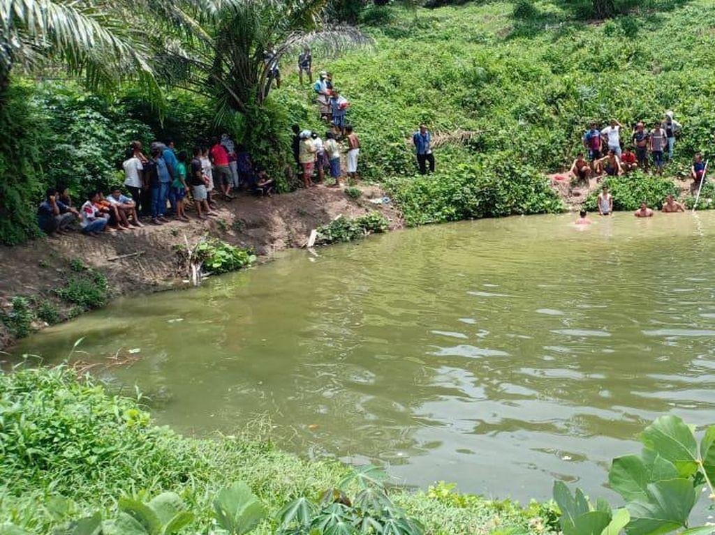 2 Bocah SD Tewas Tenggelam di Kolam Kebun Sawit Sergai Sumut