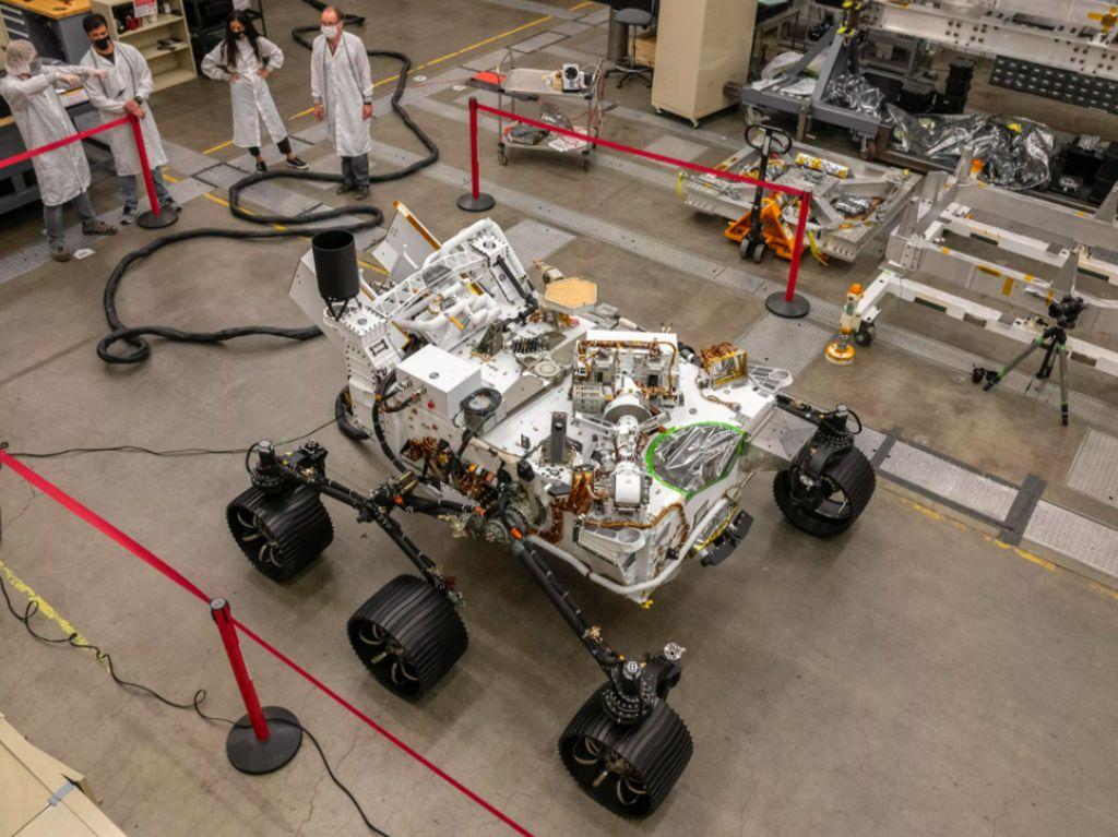 Kembaran Perseverance Bantu Penjelajahan Mars dari Bumi