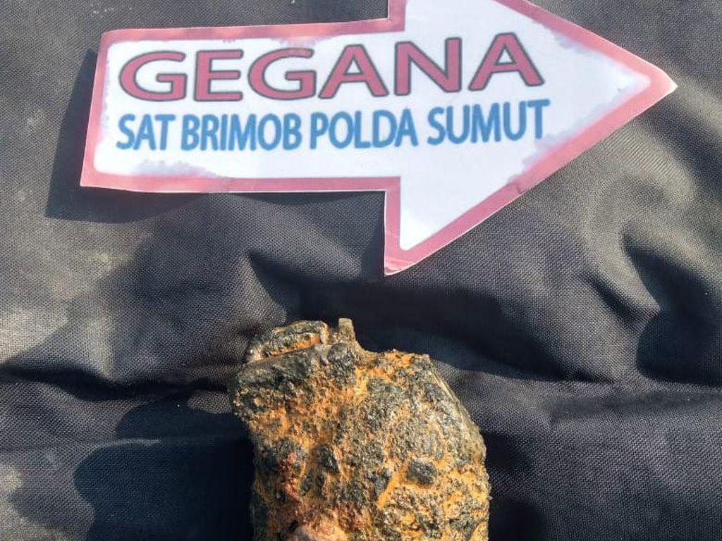 Granat Diduga Sisa Perang Dunia II Ditemukan di Serdang Bedagai Sumut