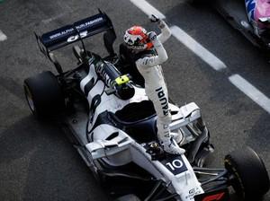 F1 GP Italia: Penuh Drama, Pierre Gasly Juara di Monza