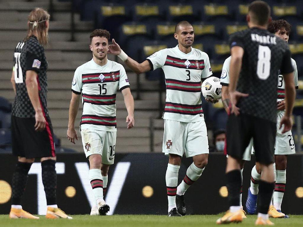 Tanpa Ronaldo, Portugal Libas Kroasia 4-1