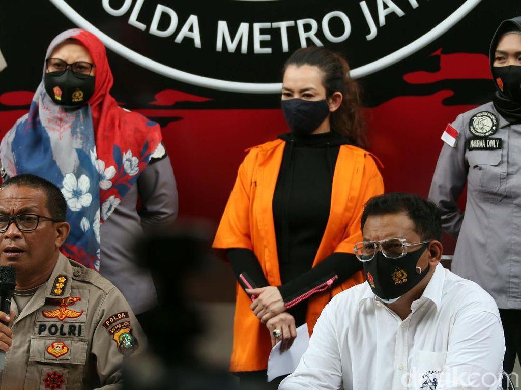 Polisi Pastikan Pengedar Sabu ke Reza Artamevia Tak Pasok ke Artis Lain