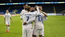 Gol Mbappe Menangkan Prancis dari Swedia