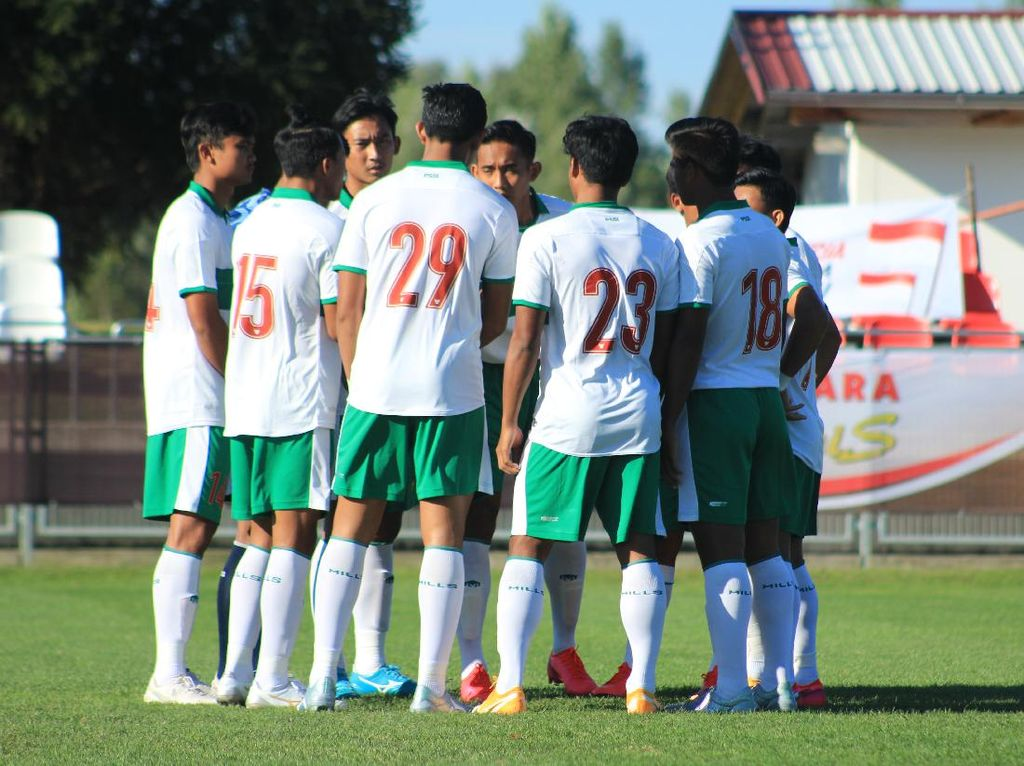 Jadwal Timnas Indonesia U-19 Vs Arab Saudi Malam Nanti
