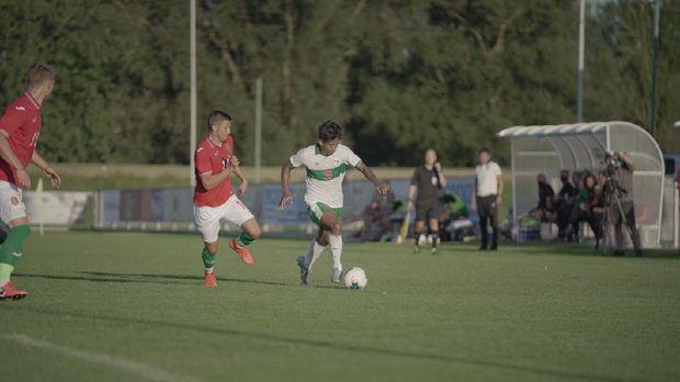 Timnas Indonesia U-19 kalah 0-3 dari Bulgaria pada laga perdana Friendly Tournament di Stadion Igraliste NK Polet, Sveti Martin na Mauri, Sabtu (5/9)