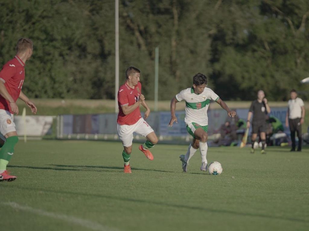 Video Timnas Indonesia U-19 Dibantai Bulgaria 3-0