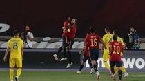 Video Keperkasaan Spanyol Saat Hajar Ukraina 4-0