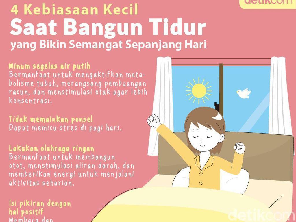 4 Rutinitas Saat Bangun Tidur yang Bikin Semangat Sepanjang Hari