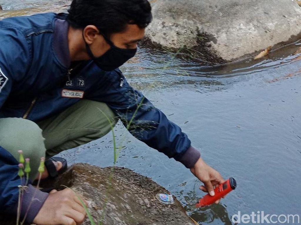 Komunitas Mahasiswa Ini Sebut Kali Brantas Malang Dikepung Mikroplastik