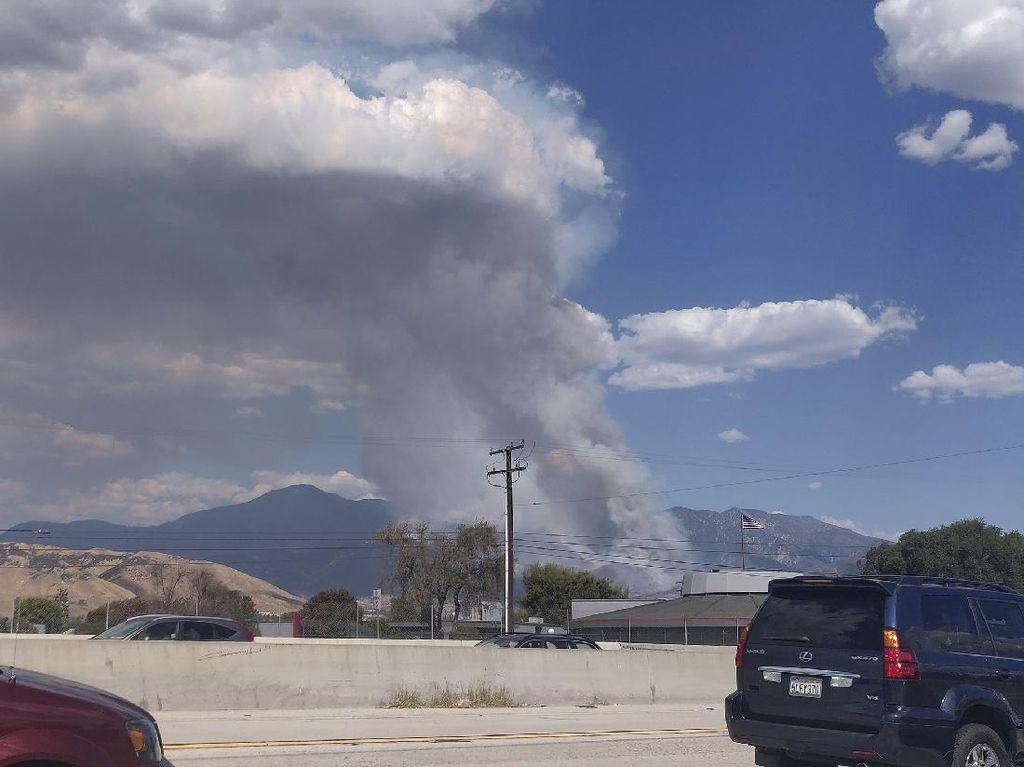 Kebakaran Hutan Kembali Melanda California, Pemicunya Kembang Api