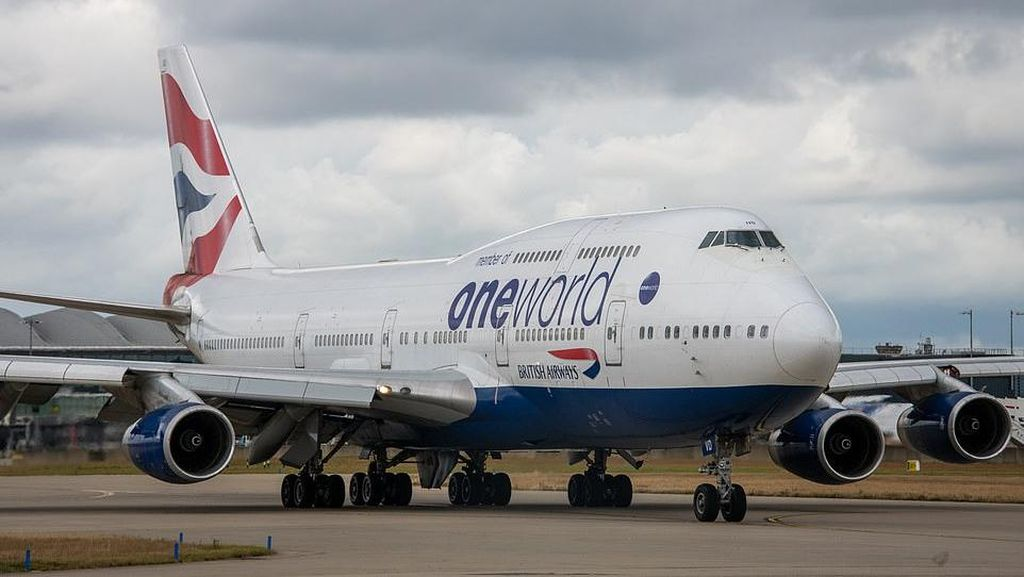 Foto: Armada Boeing 747 Terakhir British Airways Pamit