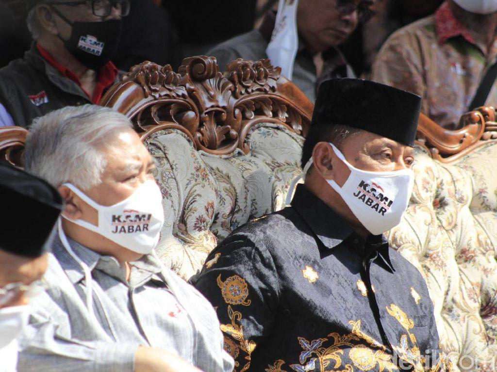 Jabar Hari Ini: Din dan Gatot Hadiri Deklarasi KAMI di Bandung-Cellica Ditegur Mendagri