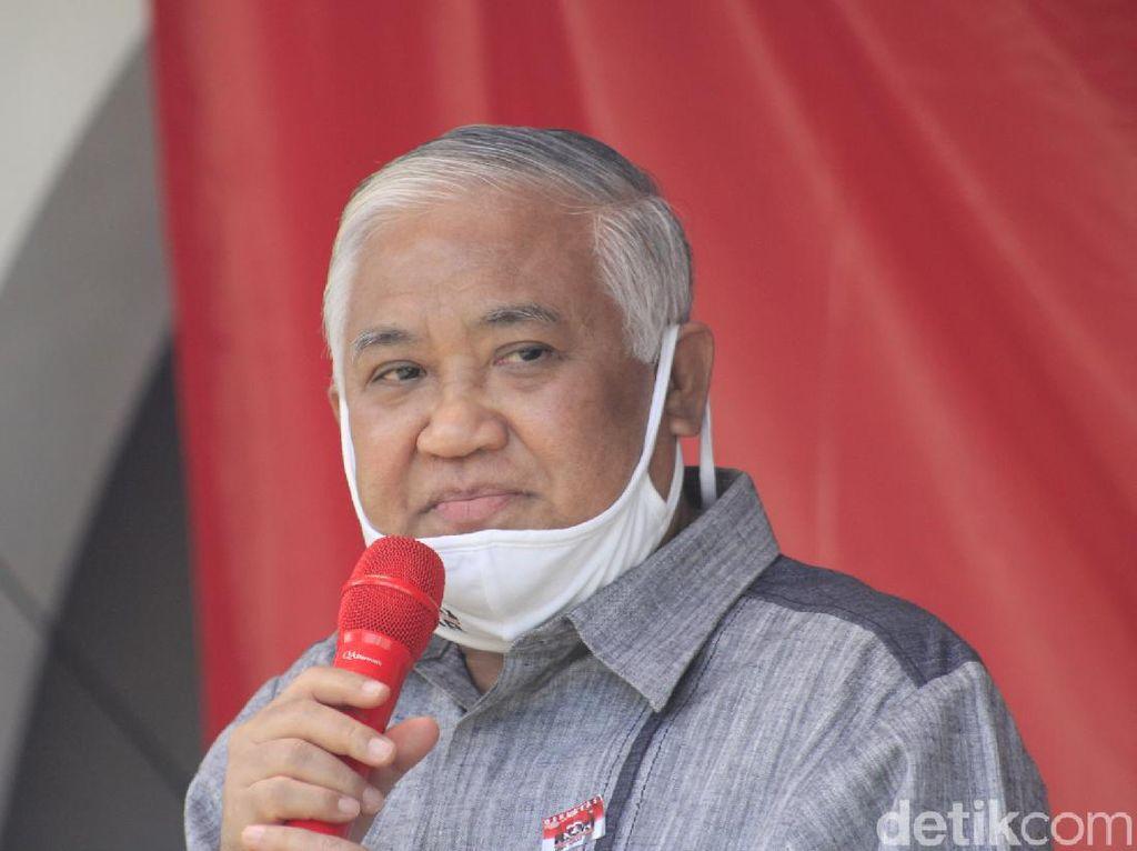 Din Syamsuddin Saran Jokowi Pecat Moeldoko Jika Tak Izin soal KLB PD