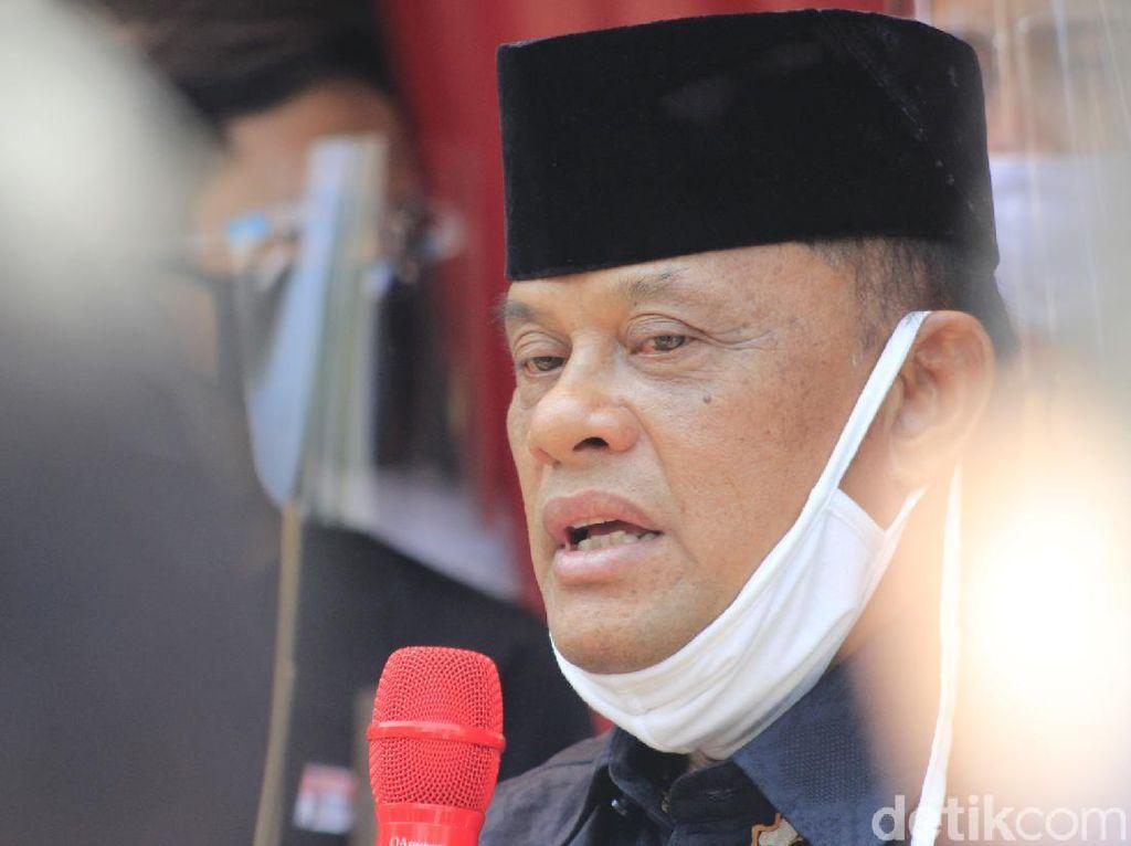 Deklarasi KAMI Jabar Sempat Ditolak, Gatot Nurmantyo: Saya Tersenyum 100 Kali