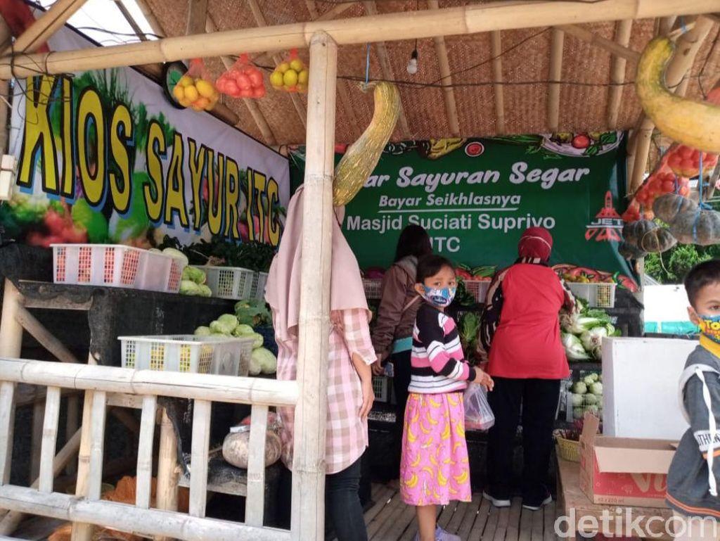 Donasi Bangun Masjid, Warga di Semarang Bikin Gerakan Infak Sayur
