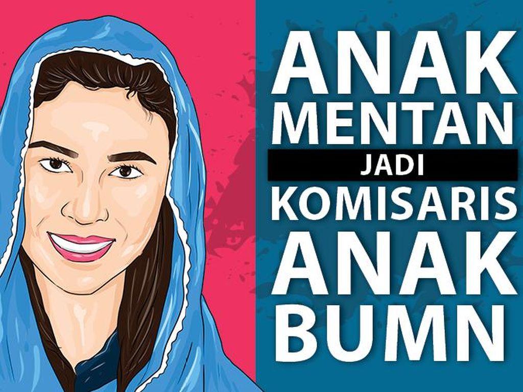 Profil Singkat Putri Mentan di Jajaran Komisaris Petrokimia Gresik