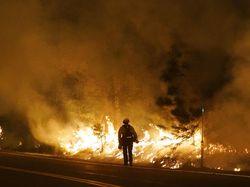 Suasana Mencekam Warga Oregon Dikepung Api Kebakaran Hutan