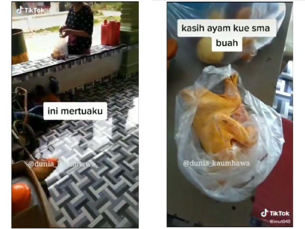 Mertua Idaman yang Selalu Kirim Makanan ke Menantu Ini Bikin Netizen Iri