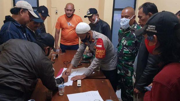 Ormas PP dan FBR yang sempat bentrok di Ciledug didamaikan polisi