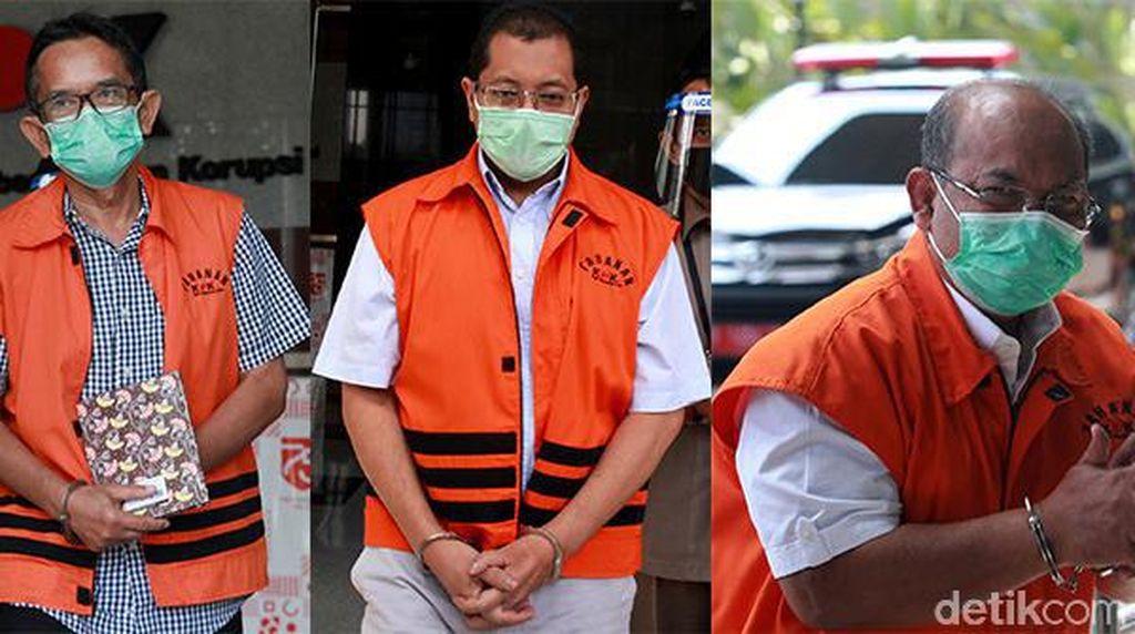Deretan Para Rompi Oranye yang Diperiksa KPK Hari Ini