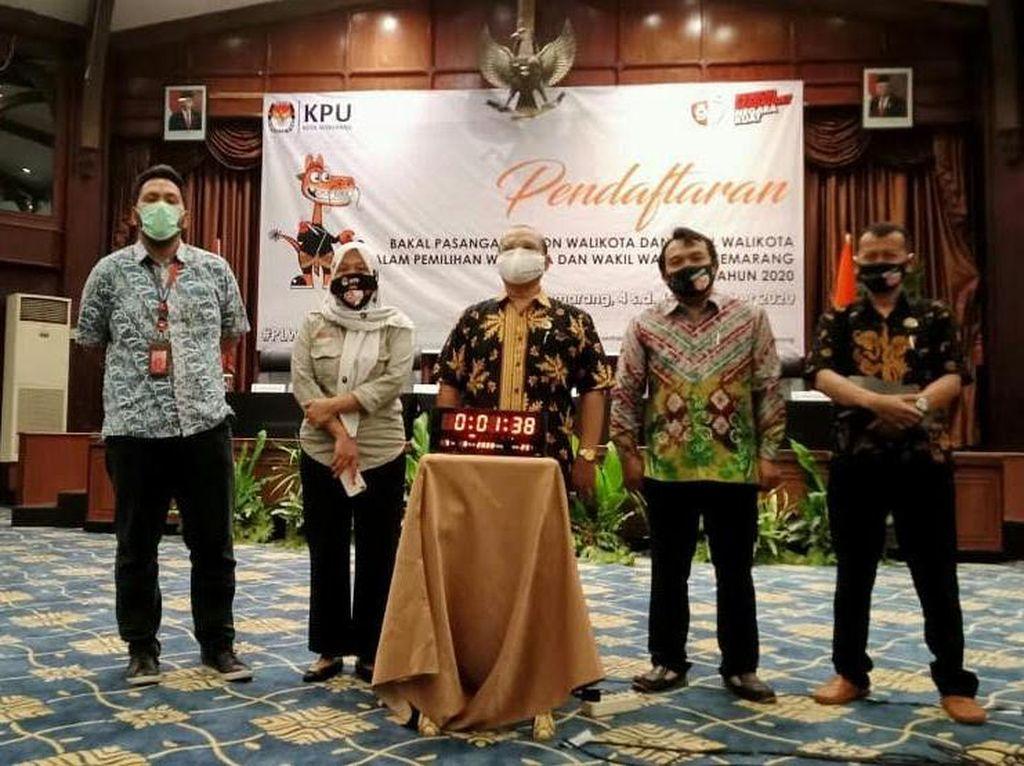 Pendaftaran Pilwalkot Semarang Diperpanjang Hingga 12 September