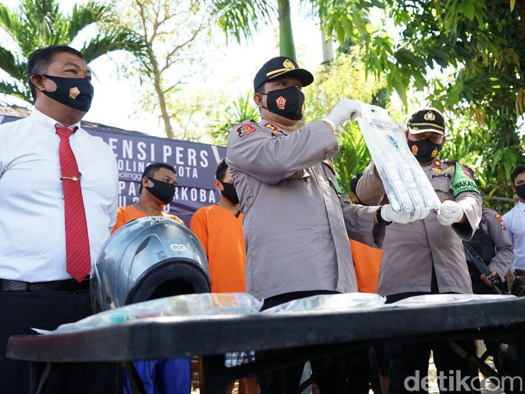 6 Pengedar Sabu dan Pil Koplo Ditangkap di Kota Probolinggo