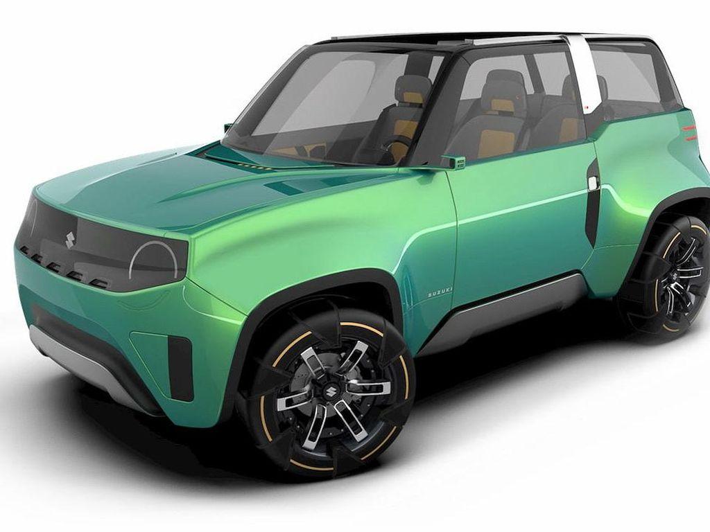 Kalau Suzuki Jimny Ditenagai Listrik, Seperti Ini Penampakannya