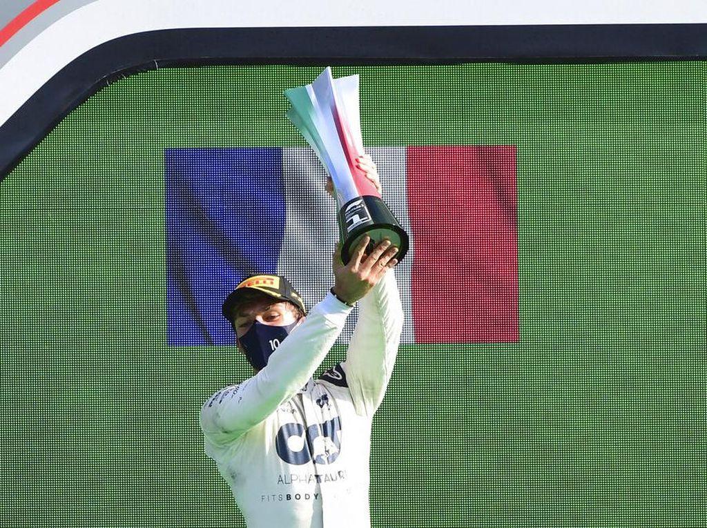 Pierre Gasly Hapus 24 Tahun Dahaga Prancis di F1