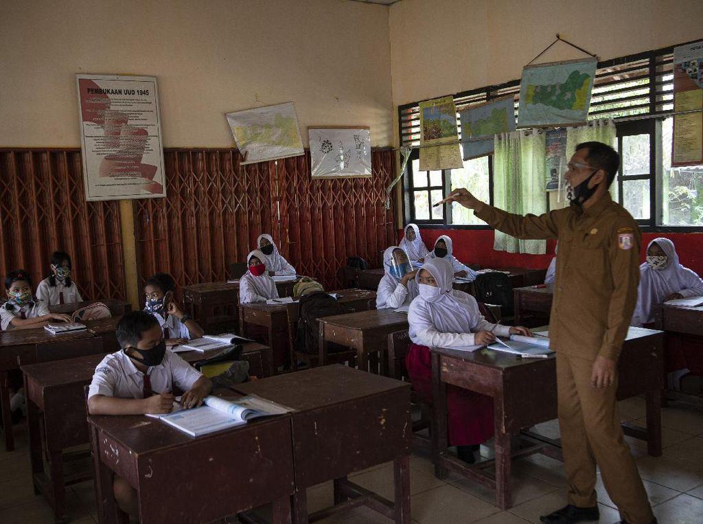 Sekolah di Sumsel-Jombang Kembali Gelar Pembelajaran Tatap Muka