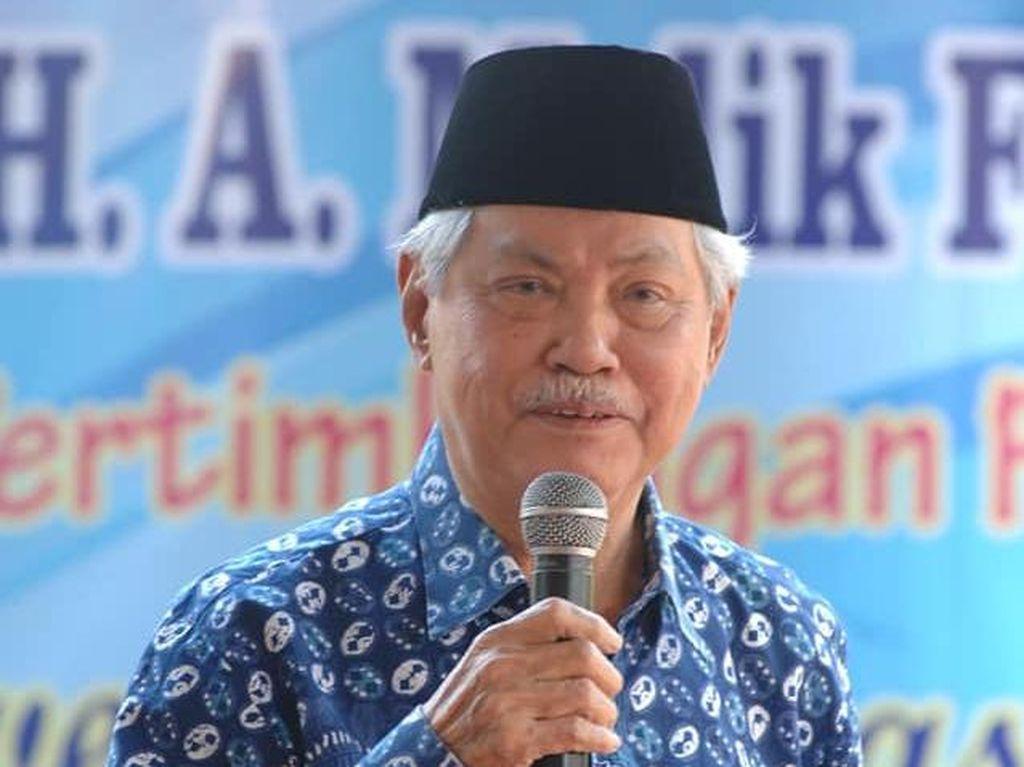 Abdul Malik Fadjar, Menteri Pendidikan Kabinet Gotong Royong Wafat