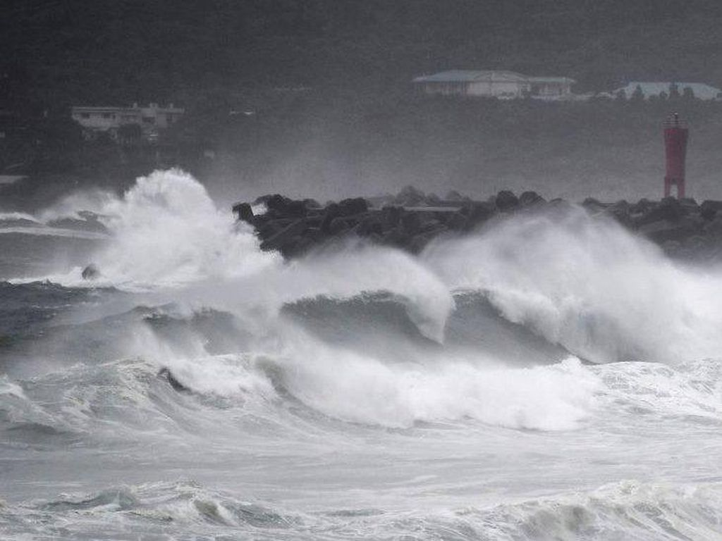 Horor Topan Haishen Hajar Jepang Kini Korsel Pun Diterjang
