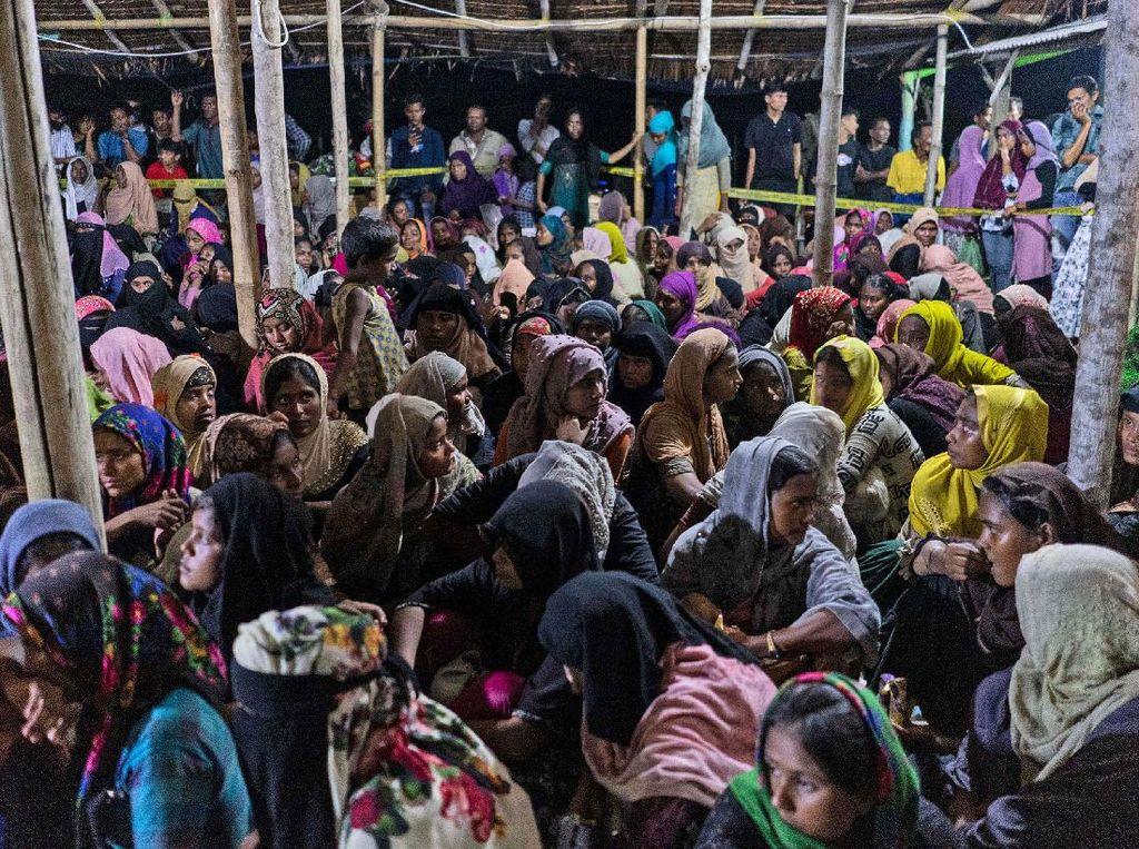 1 Imigran Rohingya Meninggal di Lokasi Penampungan Lhokseumawe