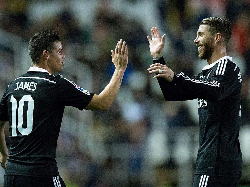 Salam Perpisahan Sergio Ramos untuk James Rodriguez