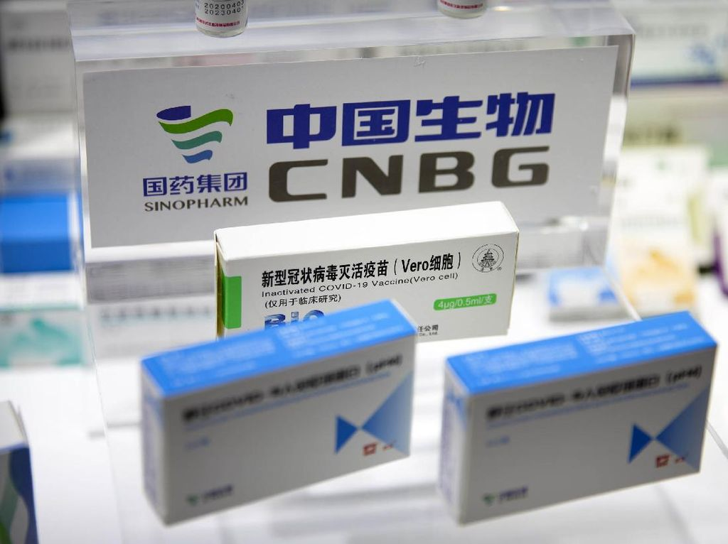 Vaksin Sinopharm Buatan China Disebut Aman untuk Anak dan Remaja