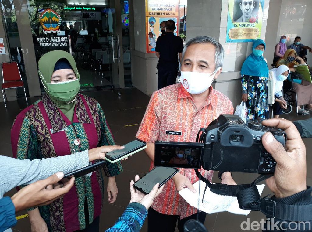 3 Pasang Calon Tunggal Pilkada Jateng Belum Tes Kesehatan di Solo Hari Ini