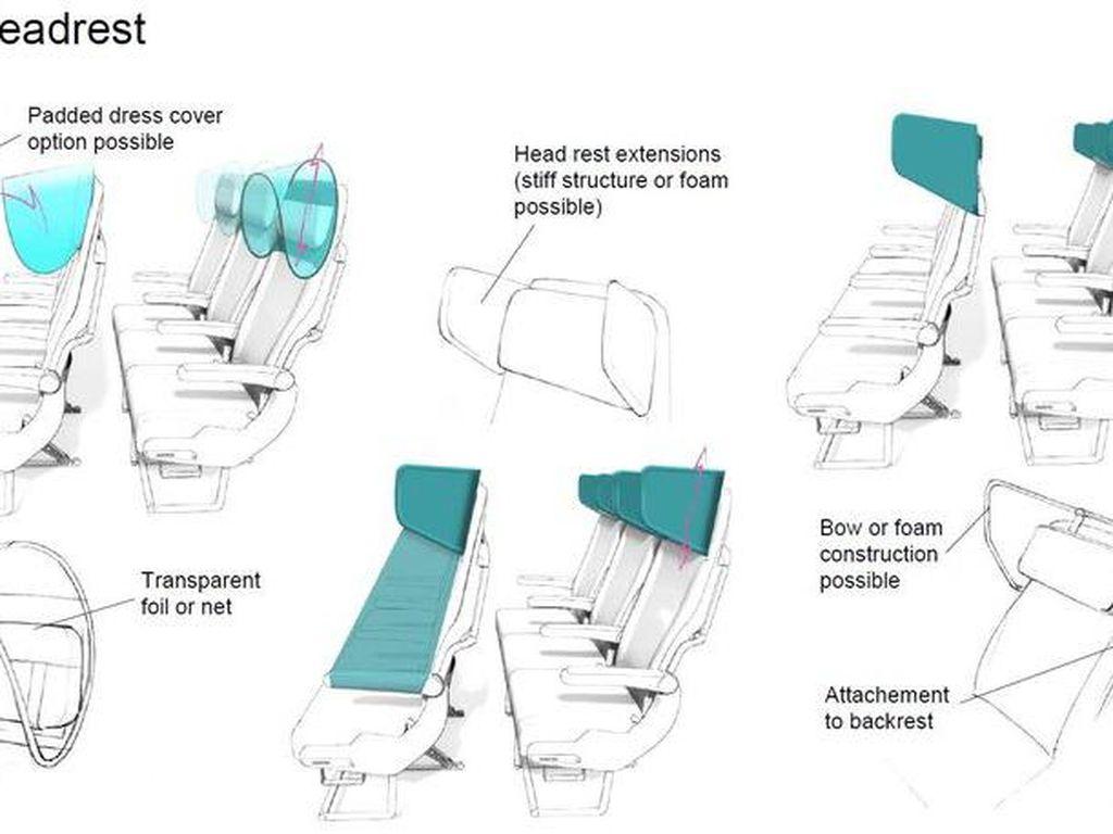 Bagaimana Nasib Kursi Pesawat Anticorona?