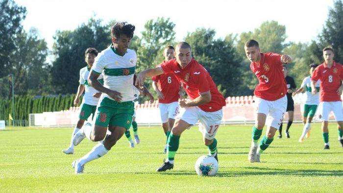 Pemain Timnas Indonesia U-19, Irfan Jauhari.