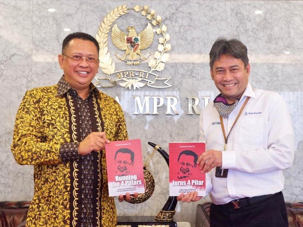 Ketua MPR Segera Rilis Buku Baru Lewat Penerbit Balai Pustaka