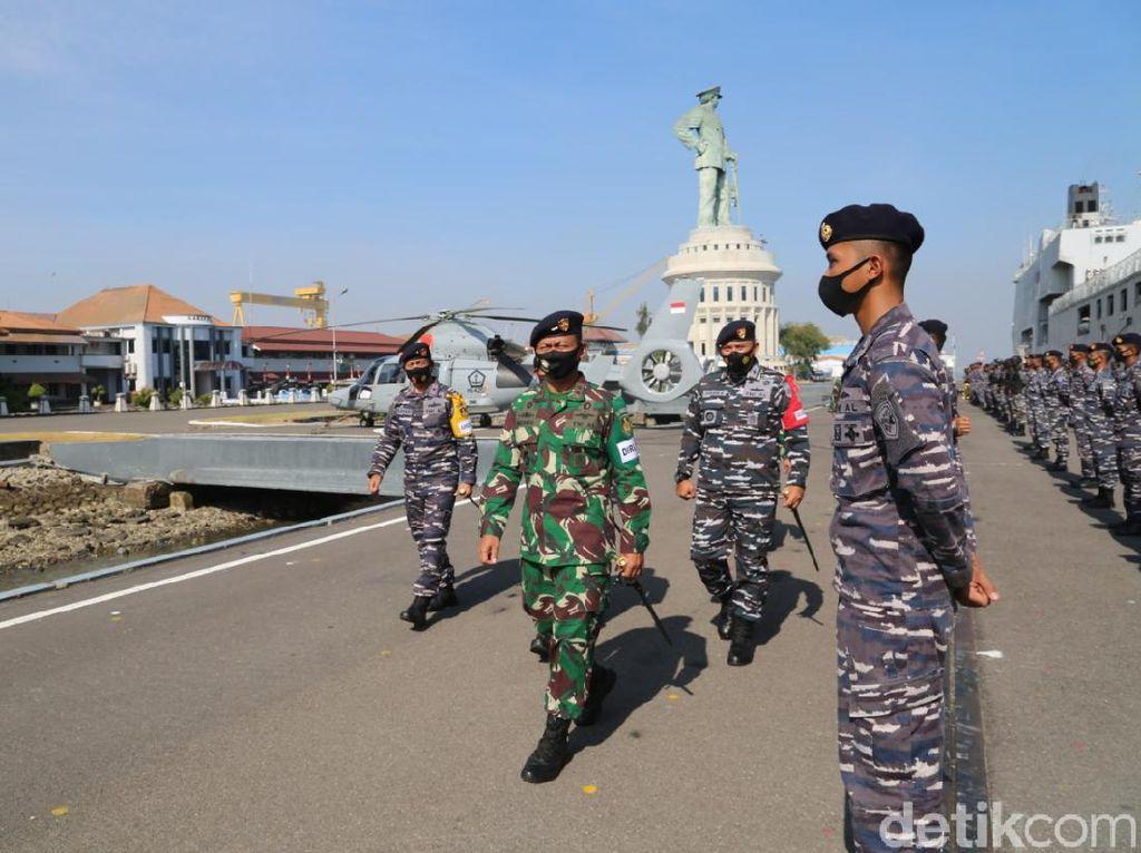 1.137 Personel Ikuti Latihan Manuver Gabungan di Laut Jawa dan Bali
