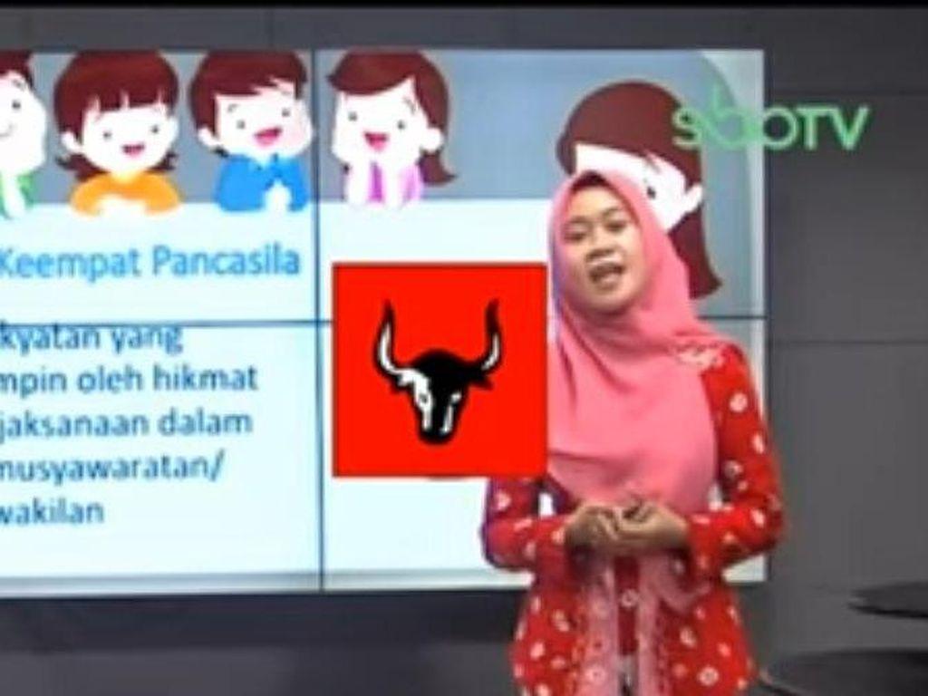 Logo PDIP di Gambar Sila Keempat Pancasila Masih Dibahas SBO TV